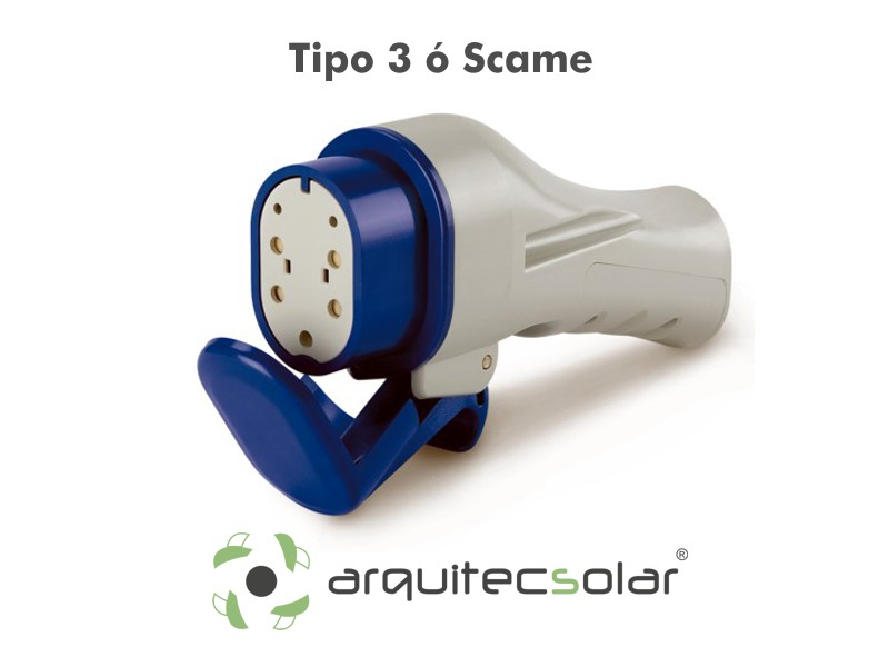 Conector VE Tipo 3 Scame