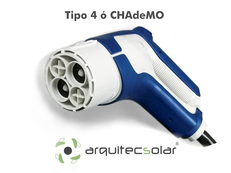 Conector VE Tipo 4 Chademo